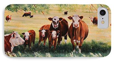 Hereford iPhone Cases