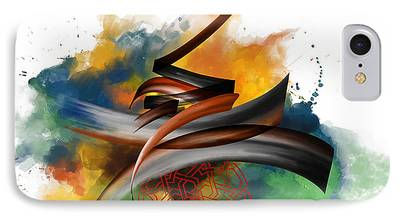 Ayat Paintings iPhone Cases
