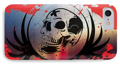 Torn Digital Art iPhone Cases