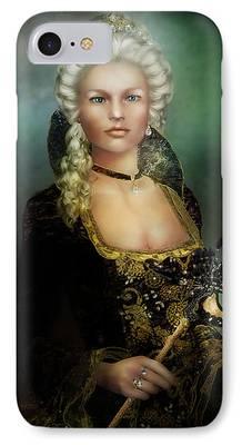 Duchess Digital Art iPhone Cases