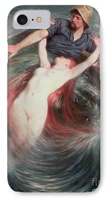 Undertow Paintings iPhone Cases