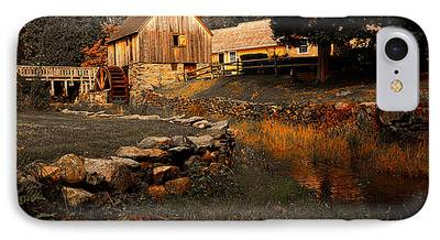Old Mill Scenes iPhone Cases