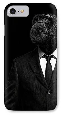 Chimpanzee iPhone Cases
