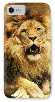 Wild Animals Digital Art iPhone Cases