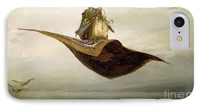 Arabian Paintings iPhone Cases