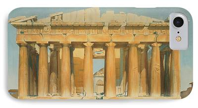 Athens Ruins iPhone Cases