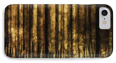 Autum Abstract iPhone Cases