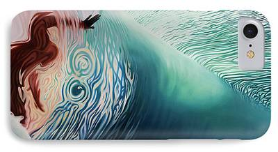 Surf The Rincon iPhone Cases