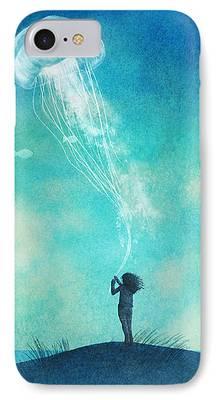 Jellyfish iPhone Cases