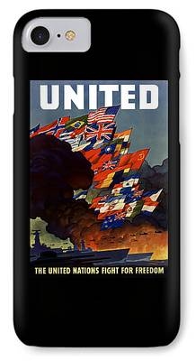 Nation Digital Art iPhone Cases