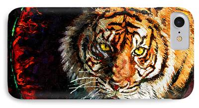 Bengal Tiger iPhone Cases