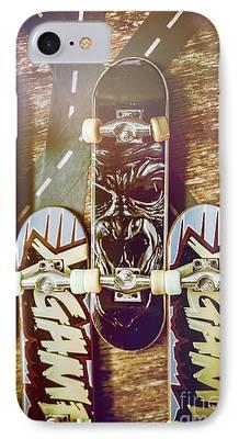 Skateboard iPhone Cases