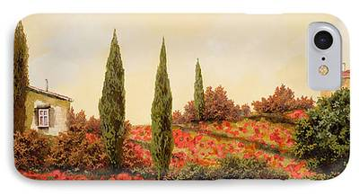 Outdoors Paintings iPhone Cases