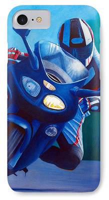 Racing Paintings iPhone Cases