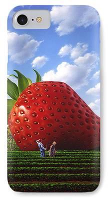 Strawberry IPhone 7 Cases