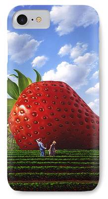 Berry Paintings iPhone Cases