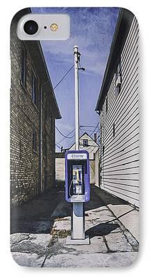 Telephone Wires iPhone Cases