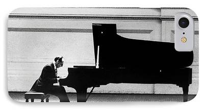 Pianist Photographs iPhone Cases