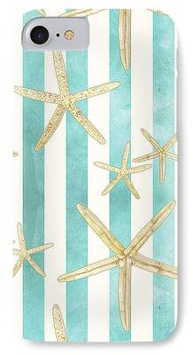 Coastal Paintings iPhone Cases