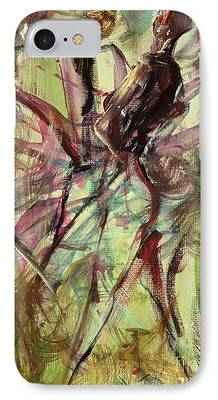 Jamaican Paintings iPhone Cases