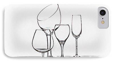 Wine Service iPhone Cases