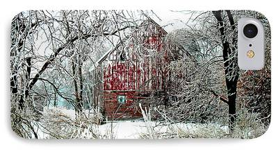 Agricultural Digital Art iPhone Cases