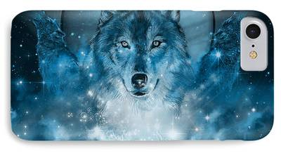 Wolf Image iPhone Cases