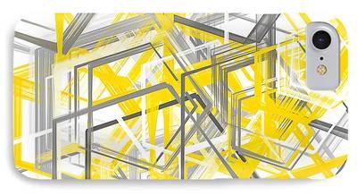 Geometric Artwork iPhone Cases