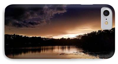 Water Reflection Photographs iPhone 7 Cases