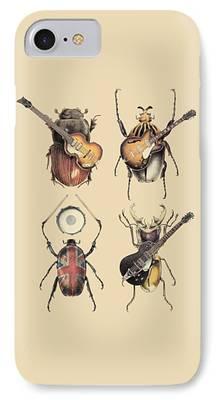Musicians Digital Art iPhone 7 Cases