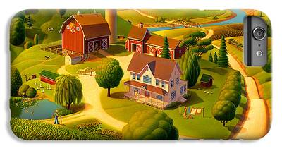 Rural Scene IPhone 7 Plus Cases