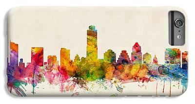 Austin Skyline iPhone 7 Plus Cases