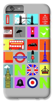 London Tube iPhone 7 Plus Cases