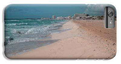 Mexico Beach Digital Art iPhone 7 Plus Cases