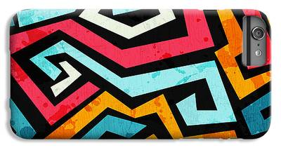 Aerosol Digital Art iPhone 7 Plus Cases
