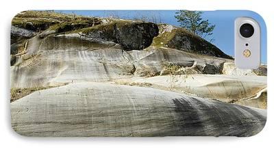 Granite Bedrock iPhone Cases