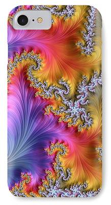 Fractal Image iPhone Cases