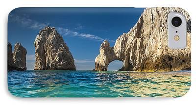 California Beach Art iPhone Cases