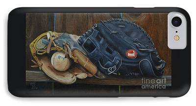 Dog Catching Ball Iphone 8 Cases Fine Art America