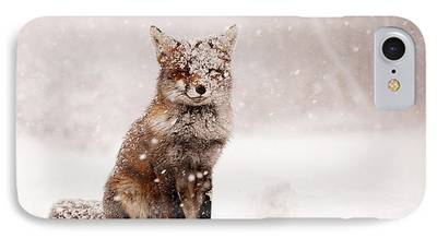 Christmas Card Art iPhone Cases