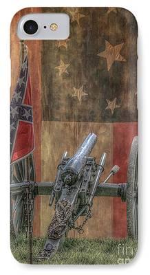 Civil War Reenactment iPhone 8 Cases