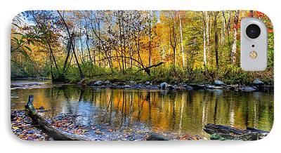 Autumn Hike iPhone Cases