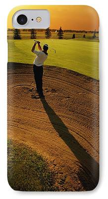 Golfer iPhone Cases