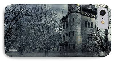 Haunted House iPhone Cases