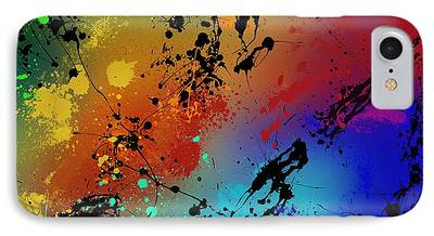 Painted Paintings iPhone Cases