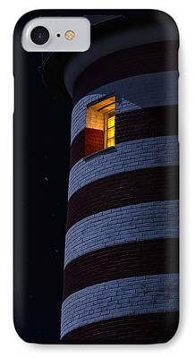 West Quoddy Head Lighthouse iPhone Cases