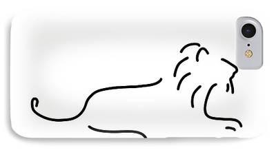 Cartoon Lion iPhone Cases