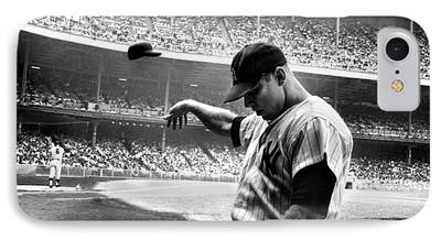 Mickey Mantle iPhone Cases