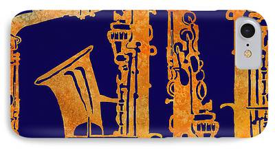 Saxophone iPhone Cases