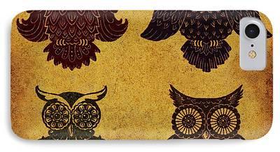 Lino Digital Art iPhone Cases